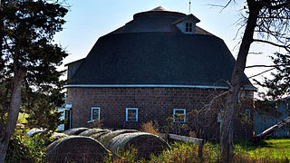 Robert Kirkpatrick Round Barn United States historic place