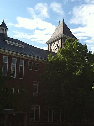Plymouth State University - Rounds Hall and Clock Tower, 2013