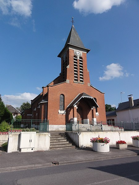 Rouvroy (Aisne) église