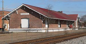 Rowland Depot - Rowland Depot, December 2014