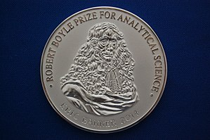 Robert Boyle Prize for Analytical Science - The 2014 medal