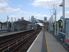 Royal Victoria stn eastbound.JPG