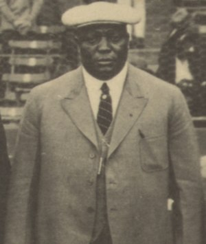 Rube Foster - Foster at the 1924 Colored World Series.