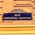 Rue Frédéric Bastiat plaque Paris 8e.jpg