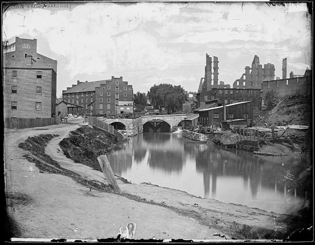 City Of Richmond Va >> File:Ruins of Haxall's Mills, Richmond, Va., 1865 - NARA ...
