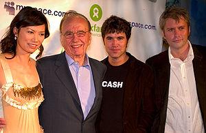 News Corp. CEO Rupert Murdoch attends the Oxfa...