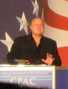 Rush Limbaugh at CPAC (2009).jpg