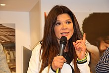 Ruslana in Cologne, Germany 04.JPG