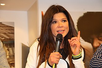 Ruslana - Ruslana during a press conference in Cologne, Germany (April, 2015)