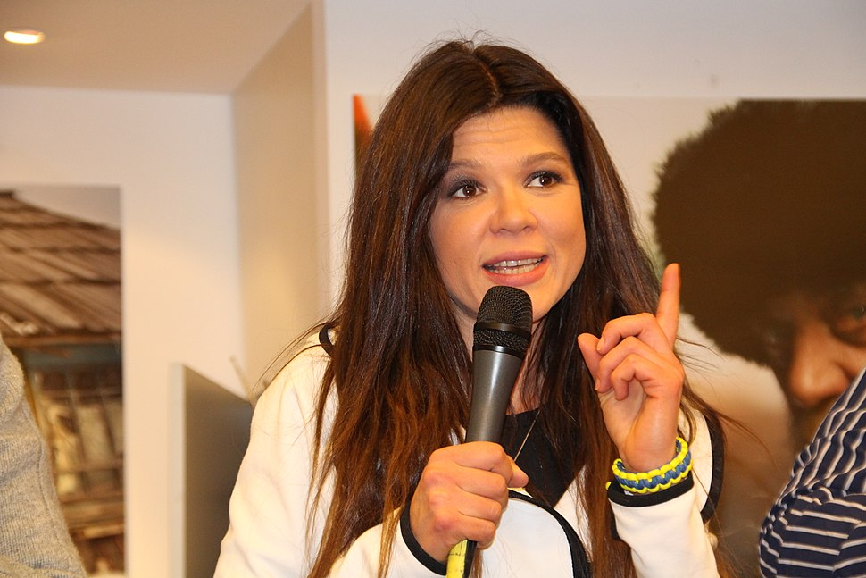 Ruslana in Cologne, Germany 04