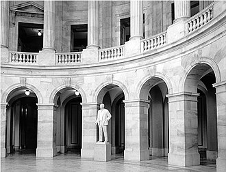 Russell Senate Office Building - Image: Russell sob rotunda