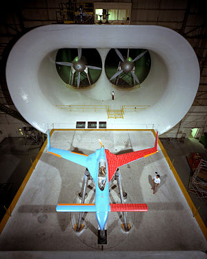 Rutan VariEze - Langley wind tunnel