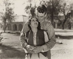 Ruth Hall (actress) - Ruth Hall and John Wayne in The Three Musketeers (1933).
