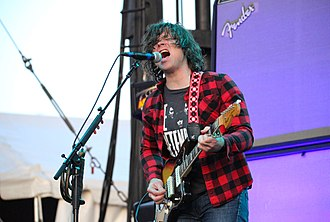 Rock singer Ryan Adams (pictured) released his track-by-track cover of 1989 in September 2015. Ryan Adams (28212961626).jpg