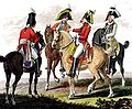 Sächsische Armee - Chevaulegers und Schwere Kavallerie 1806.jpg