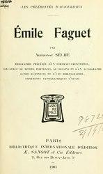Alphonse Séché: Émile Faguet