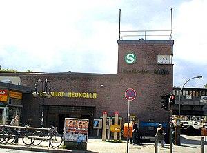 Neukölln (locality) - Berlin-Neukölln station