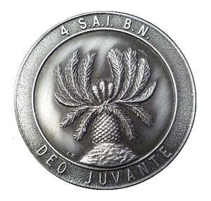 4 South African Infantry Battalion - SADF 4 SAI medallion