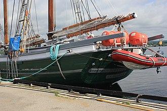 Denis Sullivan (schooner) - Image: SC Dennis Sulivan Laslovarga