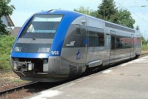 SNCF Class X 73900 - X 73902 at Neuenburg am Rhein in 2006