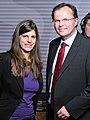 SPÖ-Bundesgeschäftsführung Laura Rudas und Dr. Günther Kräuter (3074205670).jpg