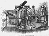Steam-powered vessel
