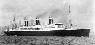 SS Leviathan - Image: SS Leviathan 1913