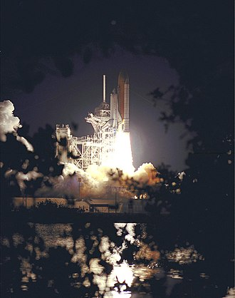 STS-101 - STS-101 launches from Kennedy Space Center, 19 May 2000.