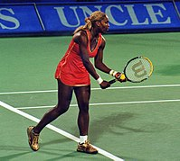 Serena Williams won eight titles, including three Grand Slams, to finish the year at No. 1 in the singles ranking.