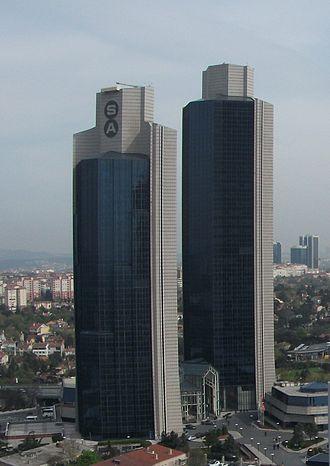 Sabancı Holding - Sabanci Group towers, 4. Levent, Istanbul, Turkey