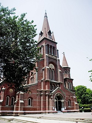 Tirhuta - Image: Sacred Heart Cathedral, Lahore 3