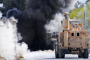 Safe detonation of IED, Afghanistan 2012.jpg