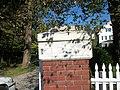 Sagtikos Manor; Right Gate Post.JPG