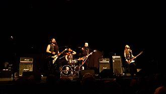 Sahg - Sahg playing at 013 Tilburg in 2016