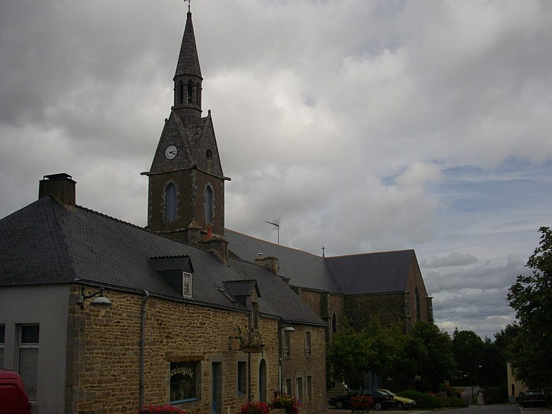 Saint Guyonvarch church of Saint-Guyomard (Morbihan, France)
