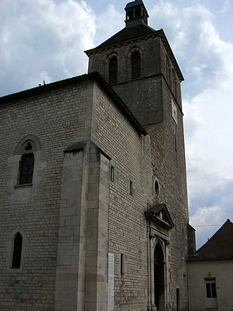 Abbey of Saint-Marcel-lès-Chalon - The church of the former abbey
