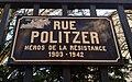 Saint-Maur-des-Fossés - Rue Politzer - Plaque (nov 2018).jpg