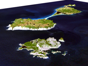 Saint-Pierre and Miquelon 3D