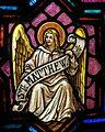 Saint Bernard Catholic Church (Corning, Ohio) - stained glass, Angel of St. Matthew.jpg
