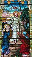 Saint Remy Catholic Church (Russia, Ohio) - stained glass, the Resurrection.jpg