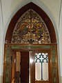Saint Stephen Church, stained glass window, 2019 Kalocsa.jpg