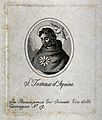 Saint Thomas Aquinas. Stipple engraving. Wellcome V0033113.jpg