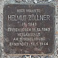 Salzburg - Lehen - Thomas-Bernhard-Straße - Stolperstein Helmut Zöllner.jpg