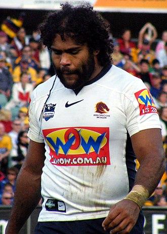 Sam Thaiday - Image: Sam Thaiday Brisbane