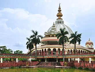 International Society for Krishna Consciousness - Image: Samadhi Mandir of Srila Prabhupada, Mayapur 07102013