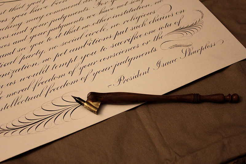 Write Old Fashioned Letter