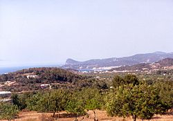 The environment of Sant Antoni de Portmany