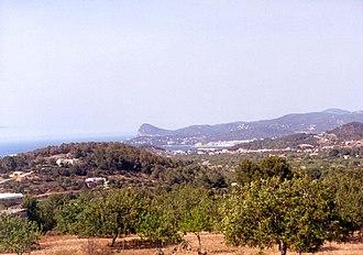 Sant Antoni de Portmany (municipality) - The environment of Sant Antoni de Portmany