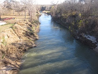 San Antonio River - Image: San Antonio River in Floresville, TX IMG 2644