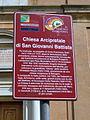 San Giovanni Battista, tourist sign (Minerbio).jpg